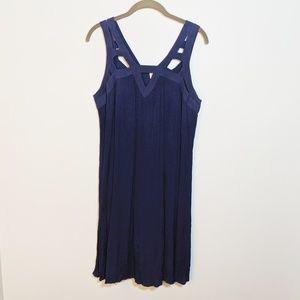 Xhilaration blue tank dress XL